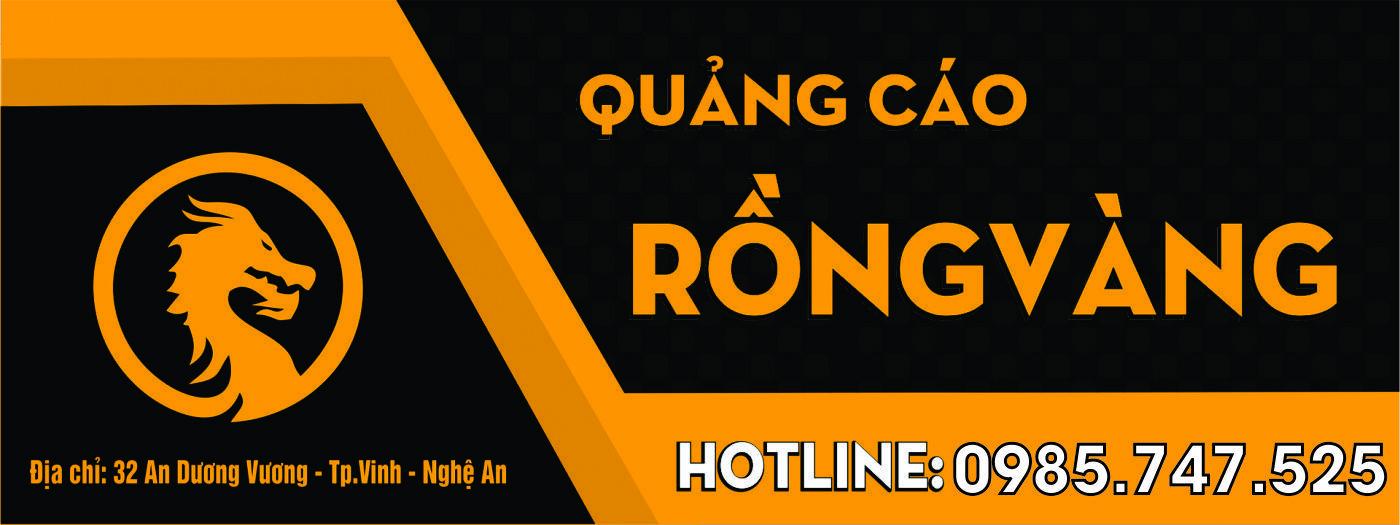 Banner Quảng Cáo Rồng Vàng