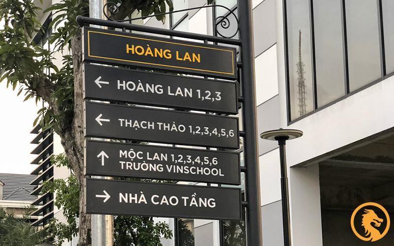 Dịch vụ làm biển chỉ dẫn tòa nhà tại Nghệ An chất lượng số 1