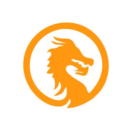 Logo Quảng Cáo Rồng Vàng