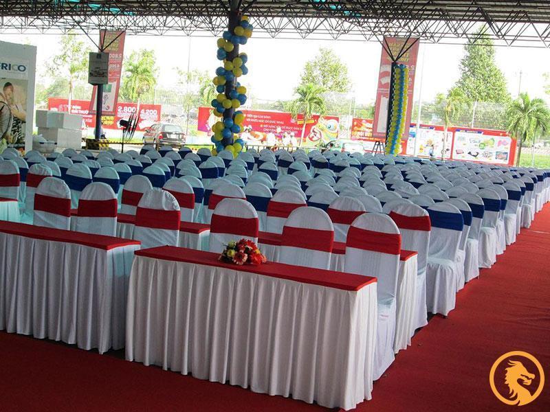 Dịch vụ cho thuê bàn ghế sự kiện tại TP Vinh, Nghệ An